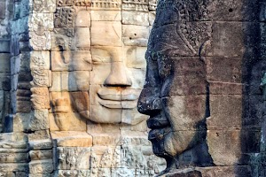 The Faces of Buddha, Bayon Temple