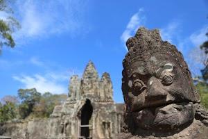 The Gates of Angkor Wat