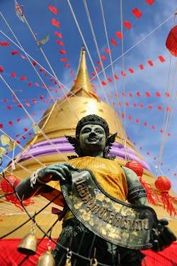 Deva Statue