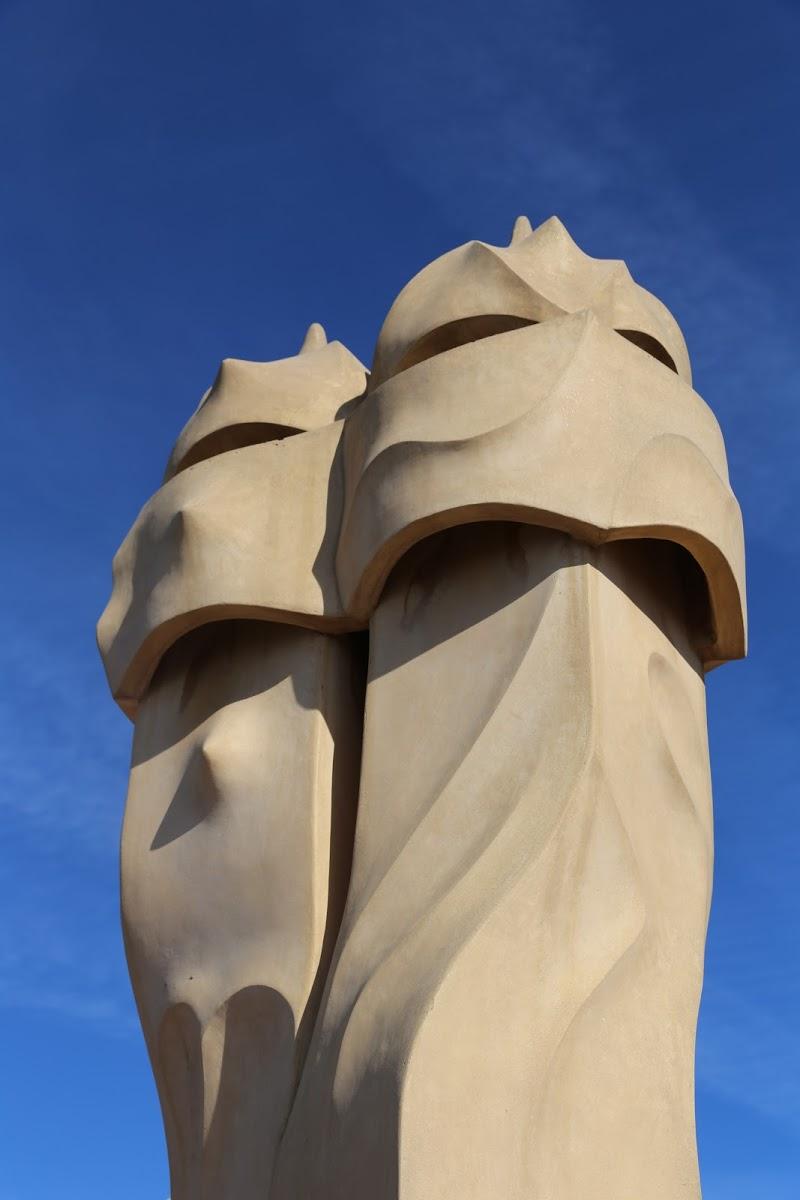 Ventilation Towers, Casa Milà