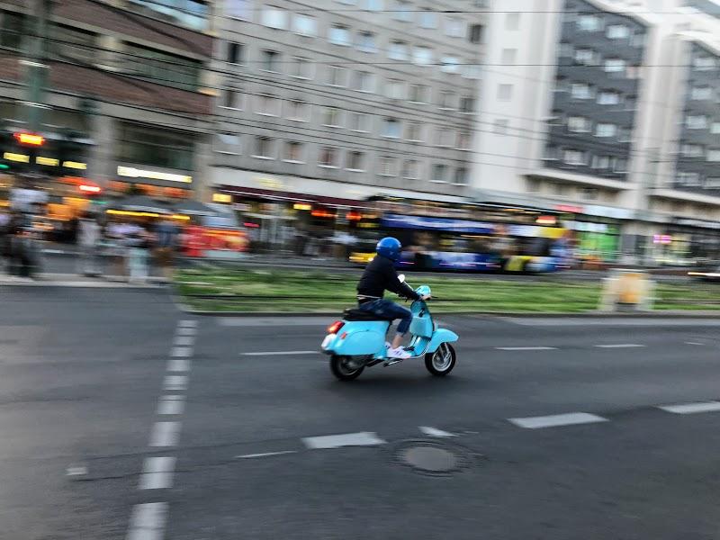 Zooming along in Berlin