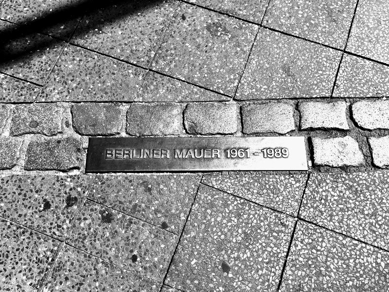 Berlin Wall Marker