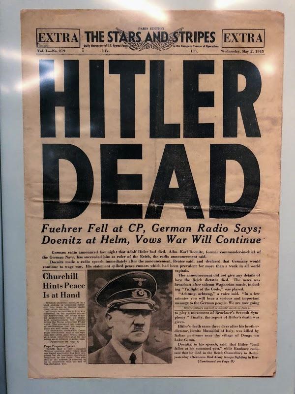 Hitler Dead!
