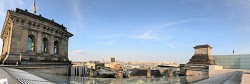 Panoramic view from the roof of the Reichstag
