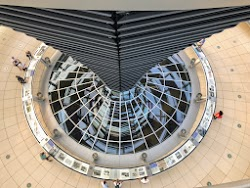 Central Column of the Reichstag Dome