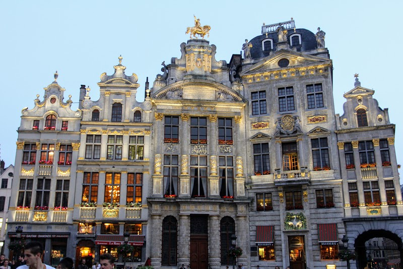 Dusk at the Grand Place
