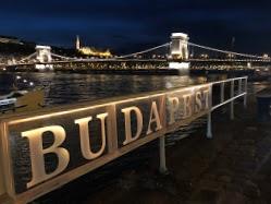 The Danube at Night