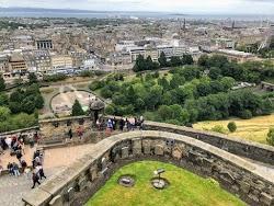 Overlooking Edinburgh City