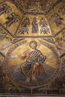 Mosaic of Christ the Judge