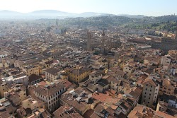 Bird's Eye View of Florence