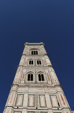 Il Duomo against a deep blue sky