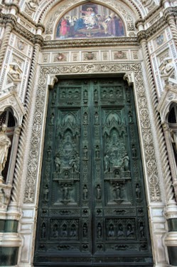 Ornate Door of the Il Duomo