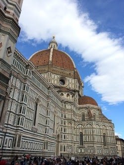 Blue Sky, White Clouds and Il Duomo