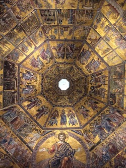 Ceiling of the Florence Baptistery