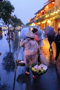 Fruit and Flower Seller