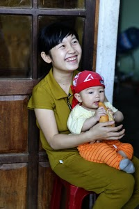 Girl with Baby Brother