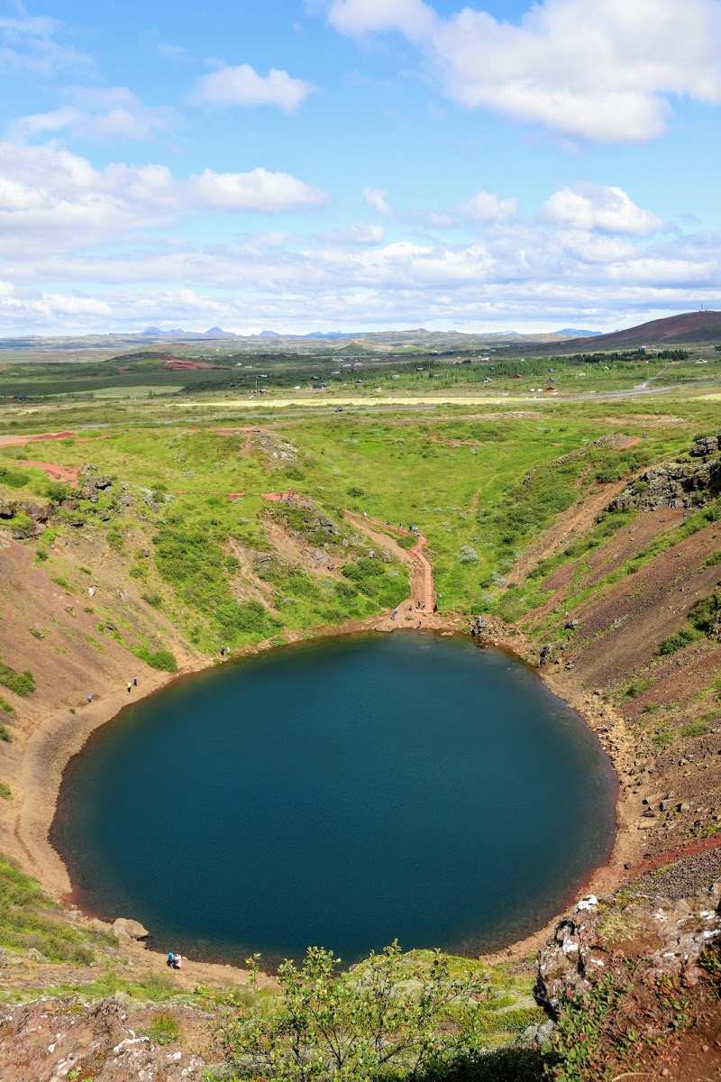 Kerið Crater and Lake