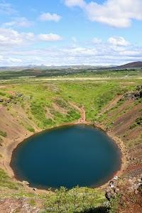 Kerið Crater and Lake