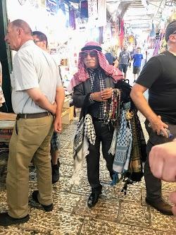 Arab Gentleman in Jerusalem