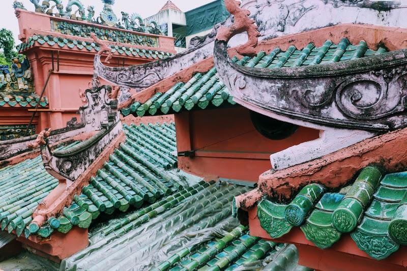 Tiled Roof of the Tortoise Pagoda