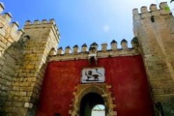 Lion's Gate at the Alcázar of Seville