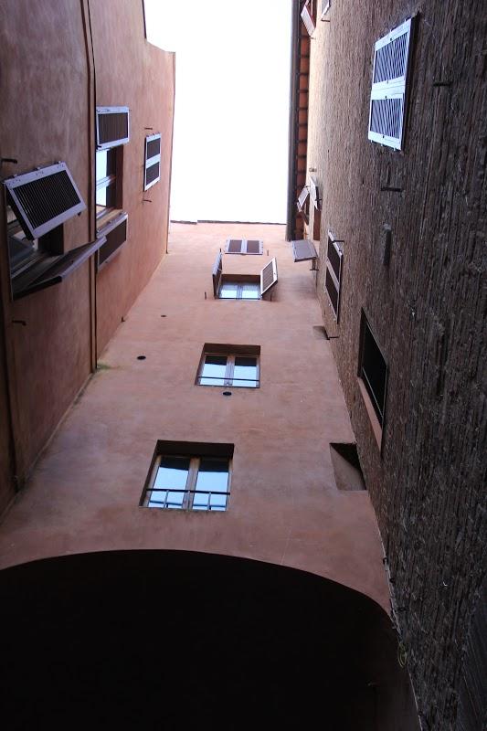 Red Building in Siena