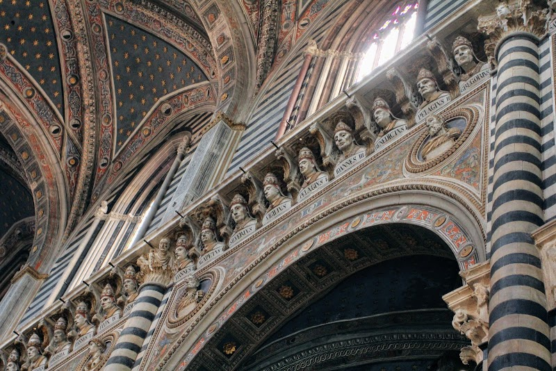 Prophets and Patriarchs in the Siena Cathedral