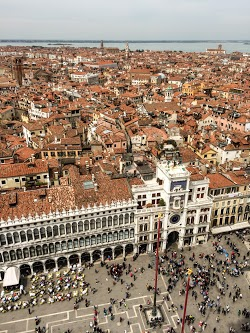 Bird's Eye View of Piazza San Marco